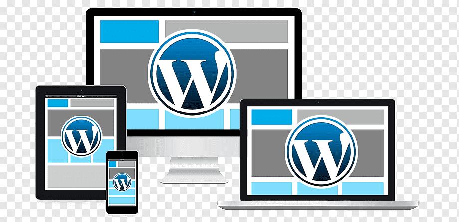 Devices with WordPress logo